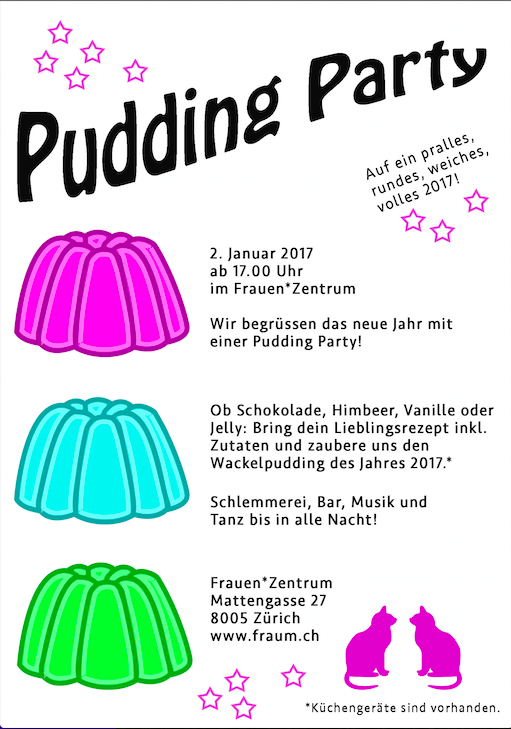 pudding-party